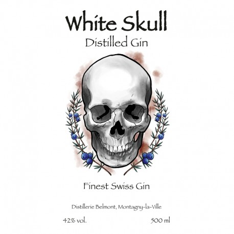 White Skull Gin