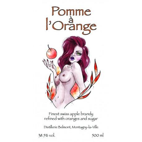 Pomme à l'orange